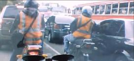 Robo en moto