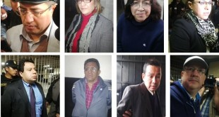 Personas Capturadas caso La Línea y Línea 2