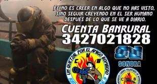 #UnQuetzalPorElAmigoBombero