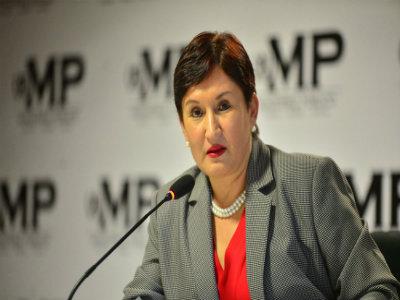 Fiscal General Thelma Aldana no esta de acuerdo con la Pena de Muerte. Foto: MP