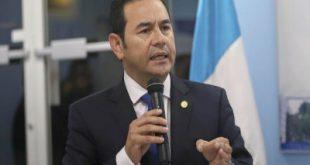 Jimmy Morales se reunió con primer Ministro de Belice