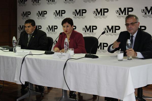 Ministerio Público (MP) y la Comisión Internacional Contra la Impunidad en Guatemala (CICIG). Foto: MP