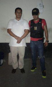Delfino de Jesús Morataya Coloma un presunto implicado en el caso de defraudación aduanera #CasoLaLínea. Foto: PNC Guatemala