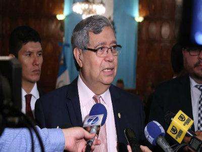 Vicepresidente de Guatemala, Jafeth Cabrera.