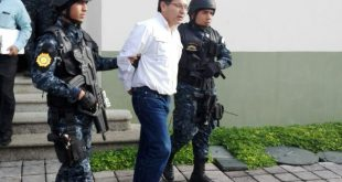 Exministro de Agricultura, Elmer López capturado este martes.