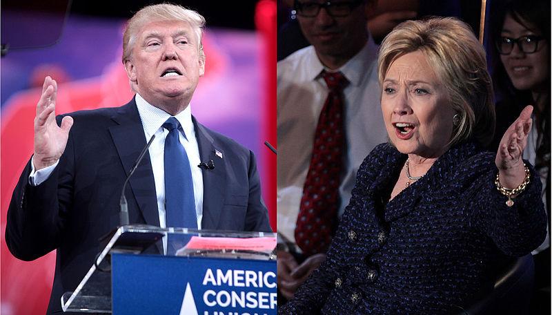 Donald Trump y Hillary Clinton #Debates2016