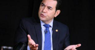 Presidente Jimmy Morales.