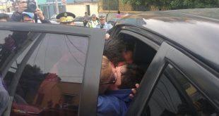 PNC rescató al niño de 10 años Alejandro José Jovel Linares