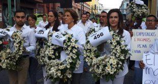 Zury Ríos exige a diputados restablezcan la pena de muerte.