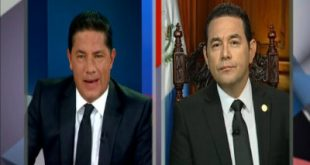 Jimmy Morales reconoce responsabilidad del Estado por Tragedia en Hogar Seguro