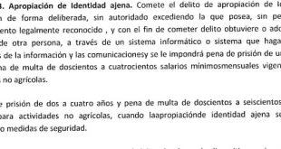 Art. 13 Ley Contra la Ciberdelincuencia