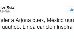"""Carlos """"El Pescado"""" Ruiz Crítica con un Tuit a los que Defienden a Ricardo Arjona"""