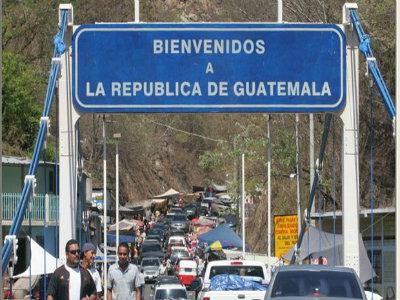 Guatemala – Honduras concretan primera unión aduanera del continente