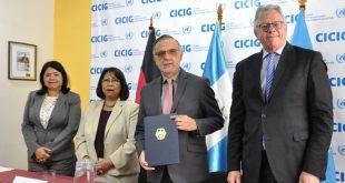 Alemania otorga donación a la CICIG por 3 millones de quetzales