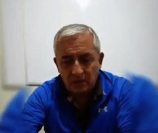 Otto Pérez Molina dice que Manuel Baldizón