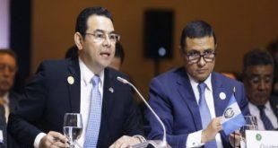 Presidente Jimmy Morales asistió a Reunión de Presidentes del SICA