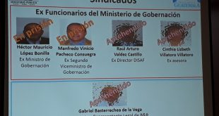 Corrupción en el Ministerio de Gobernación
