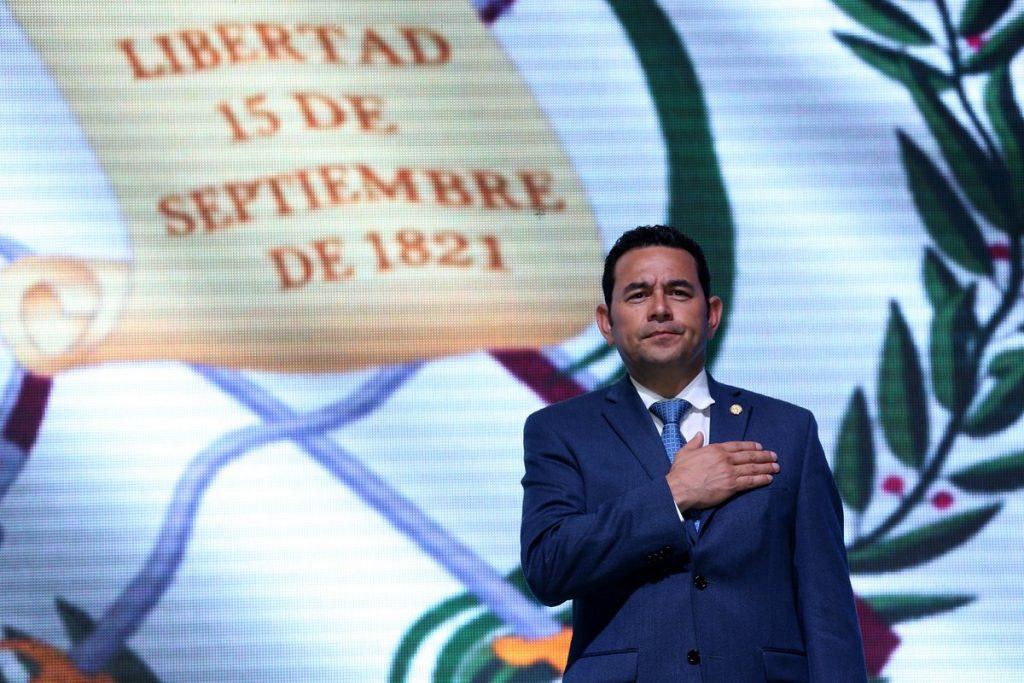 """""""La pena de muerte es una medida contemplada en la Constitución"""": Jimmy Morales"""