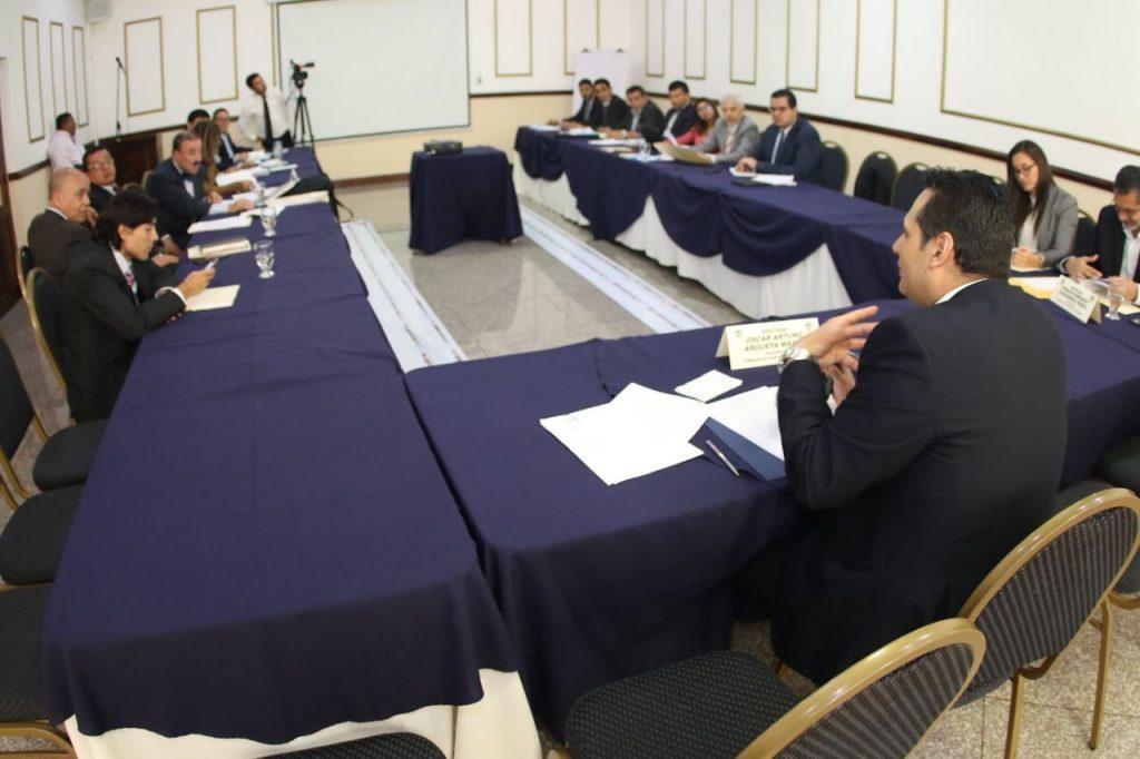 Reunión Congreso de la República de Guatemala