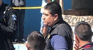 Pandilleros en Villa Nueva, Sacan a Pedradas a Agentes de la PNC y MP