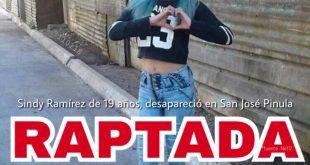 Joven se Encuentra Desaparecida se llama Sindy Ramirez