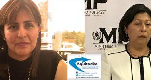Heidi De León ex Fiscal del MP que Acusa a Mayra Veliz de Actos de Corrupción