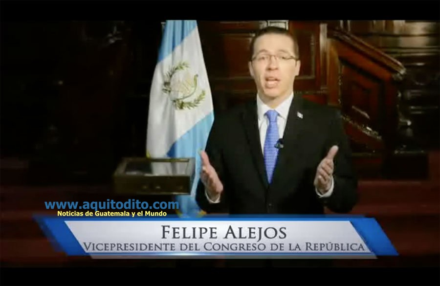El Diputado Felipe Alejos
