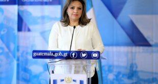 Ministra de Relaciones Exteriores,SandraJovel