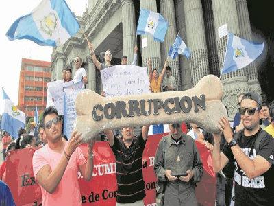 Guatemala Corrupción