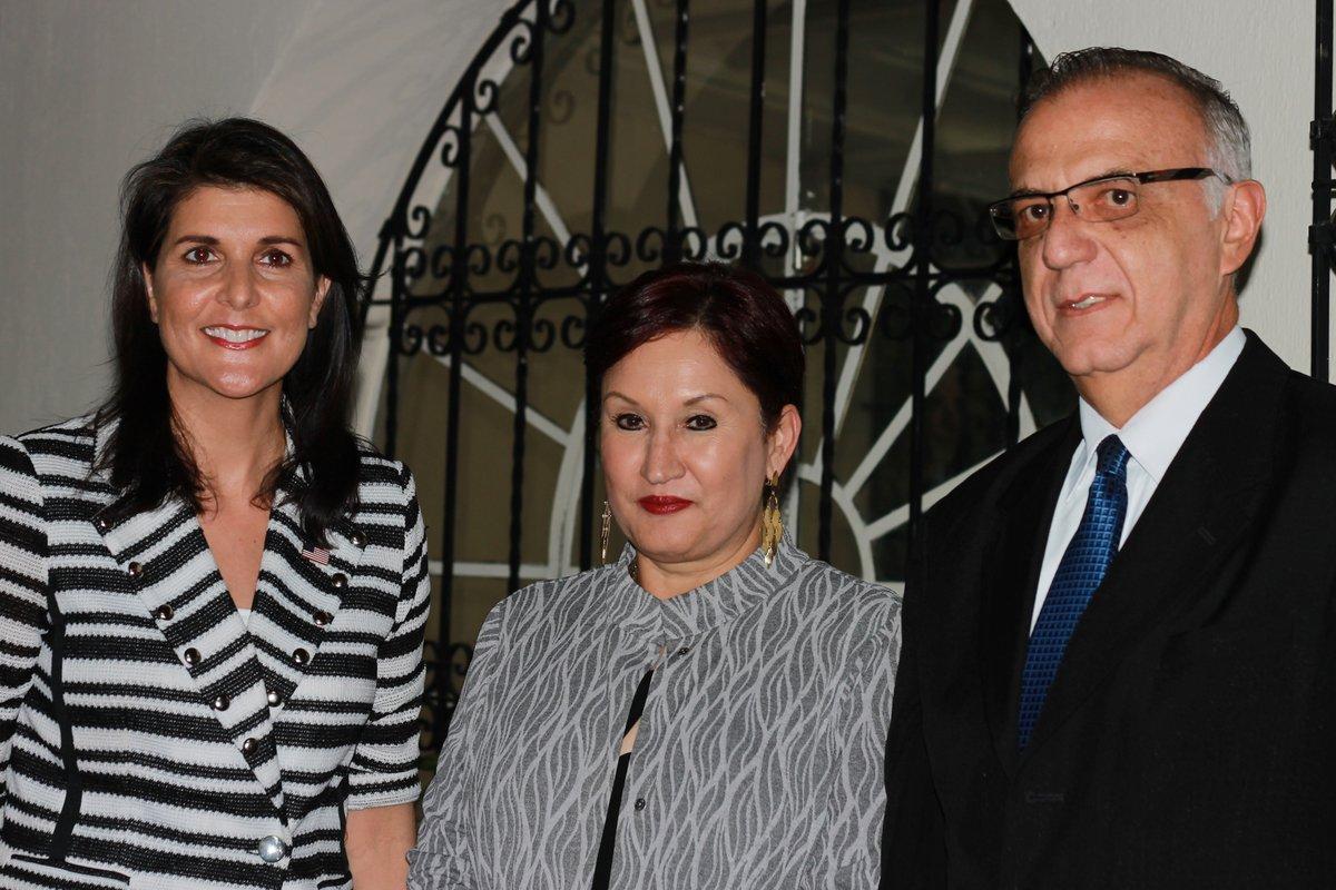 Iván Velásquez y Thelma Aldana