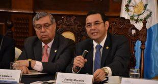 Jimmy Morales Presidente de Guatemala