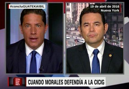 Fernando del Rincón vs Jimmy Morales