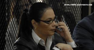 Roxana Baldetti es sentenciada a 15 años y 6 meses de cárcel