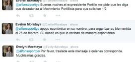 Mensaje de Evelyn Morataya