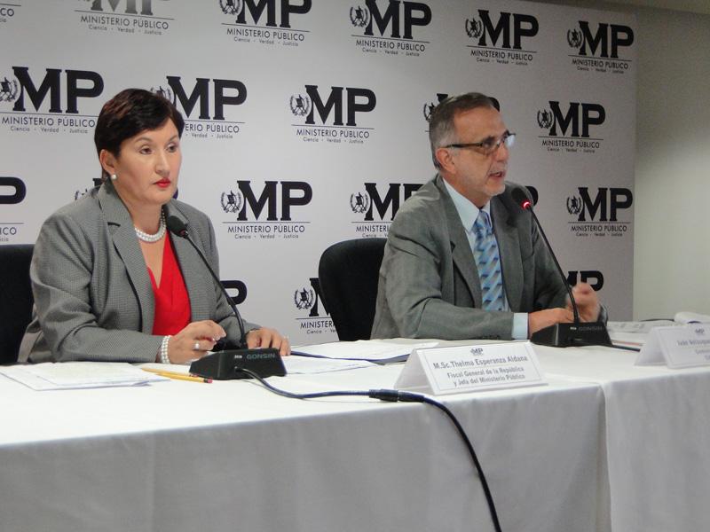 CICIG y MP