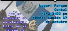 Anonymous Guatemala convoca a manifestar