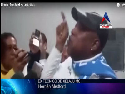 ex técnico Hernán Mendford descargó en los medios su impotencia