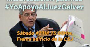 #YoApoyoAlJuezGalvez