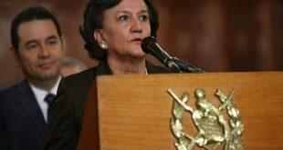 Procuradora General de la Nación (PGN), Anabella Morfín.