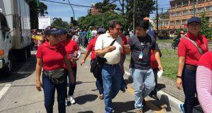 Joviel Acevedo líder sindical