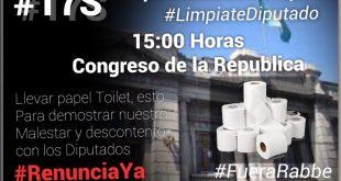 #LimpiateDiputado #PapelContraLaCorrupcion