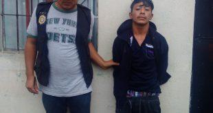 Capturado es Johnny Alexander Reyes Lemus, 19 años en colonia Cipresales zona 6