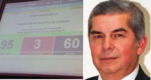 Congreso suspende temporalmente a Luis Rabbé