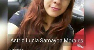Lucía Samayoa esta desaparecida desde el 5 de Octubre por la USAC