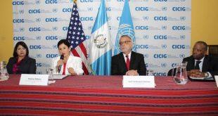 EEUU entrega donación de 7. 5 millones de dólares a la CICIG