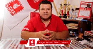 Ángel Amado Pérez, alcalde de Rabinal