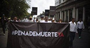 Amnistía Internacional pide al Congreso abolir Pena de Muerte.