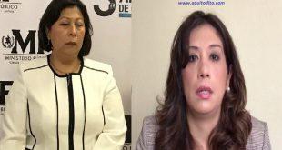 Jueza Michelle Aguilera hace señalamientos en contra de Mayra Véliz Secretaria del MP