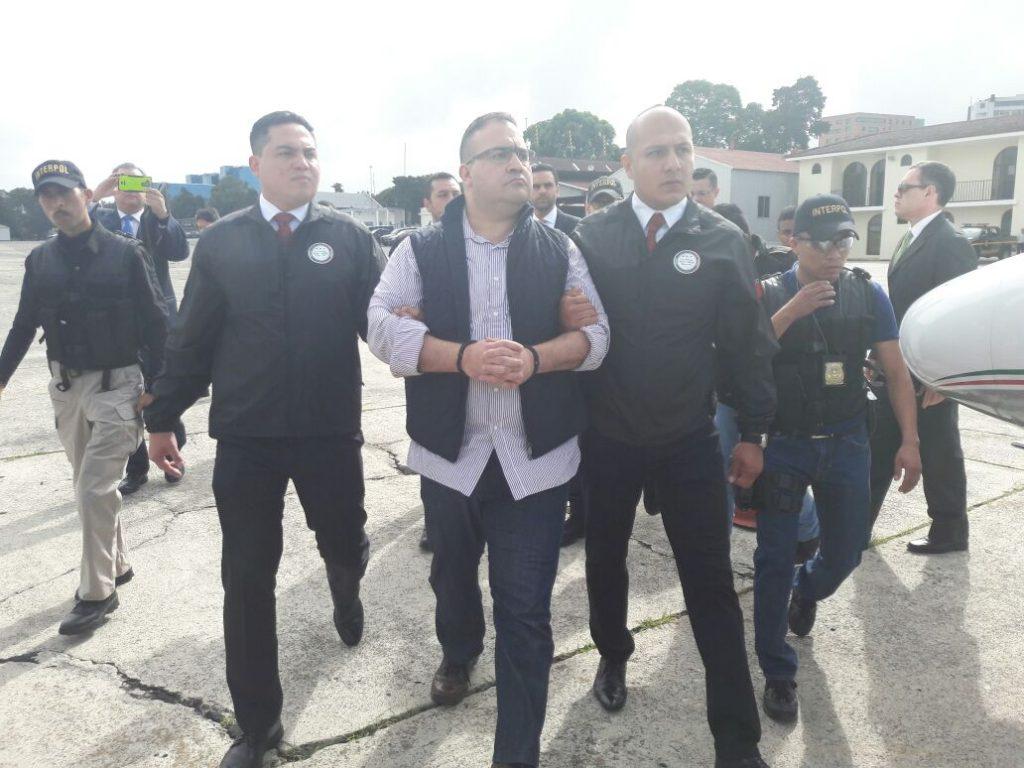Javier Duarte de Ochoa, fue extraditado hoy a México