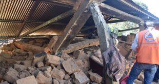 Debido al grado de destrucción disperso sismo es considerado terremoto en Guatemala